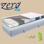 Abbazia táskarugós matrac lószőr-latex topperrel ajándék matracvédővel