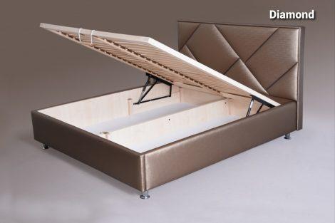 Diamond ágy ágyneműtartóval