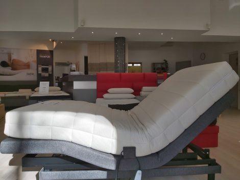 Perfect-T motoros ágy 100x200 + Latex Premio 18 (közepesen kemény) matrac ingyenes kiszállítással