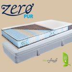 San Remo 9 zónás táskarugós matrac lószőr-latex topperrel ajándék matracvédővel